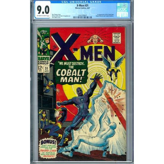 X-Men #31 CGC 9.0 (OW-W) *2062339007*