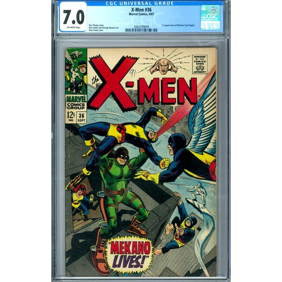 X-Men #36 CGC 7.0 (OW) *2062339009*