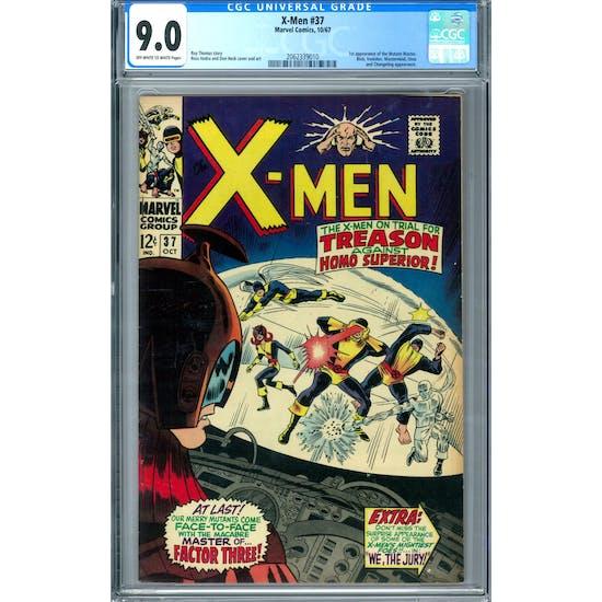 X-Men #37 CGC 9.0 (OW-W) *2062339010*