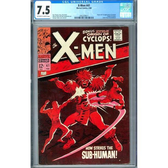 X-Men #41 CGC 7.5 (OW-W) *2062339011*