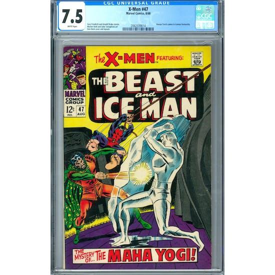 X-Men #47 CGC 7.5 (W) *2062339014*