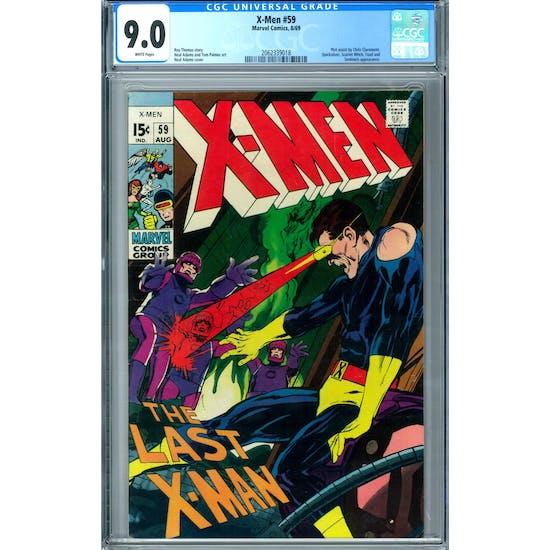 X-Men #59 CGC 9.0 (W) *2062339018*