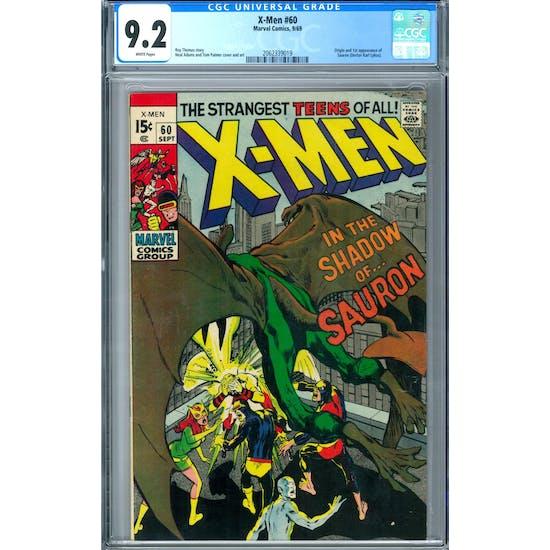 X-Men #60 CGC 9.2 (W) *2062339019*