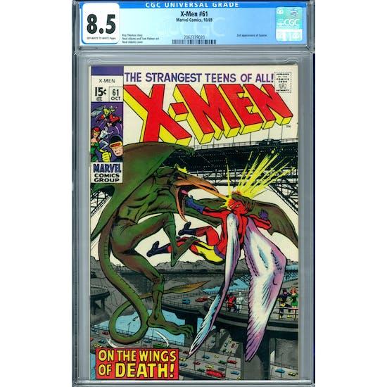 X-Men #61 CGC 8.5 (OW-W) *2062339020*