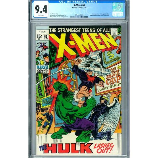 X-Men #66 CGC 9.4 (W) *2062339023*