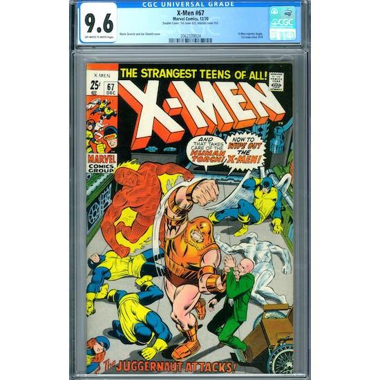 X-Men #67 CGC 9.6 Double Cover (OW-W) *2062339024*
