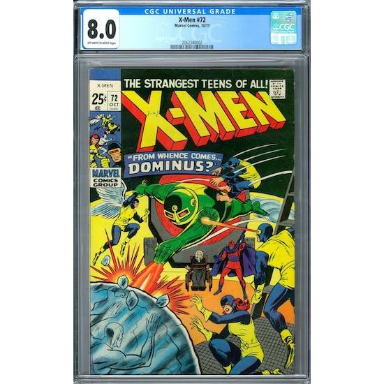 X-Men #72 CGC 8.0 (OW-W) *2062340002*