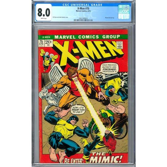 X-Men #75 CGC 8.0 (W) *2062340003*