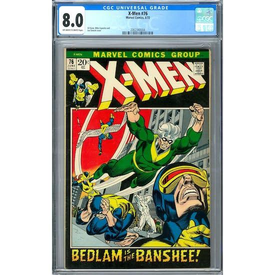 X-Men #76 CGC 8.0 (OW-W) *2062340004*