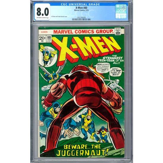 X-Men #80 CGC 8.0 (OW-W) *2062340006*