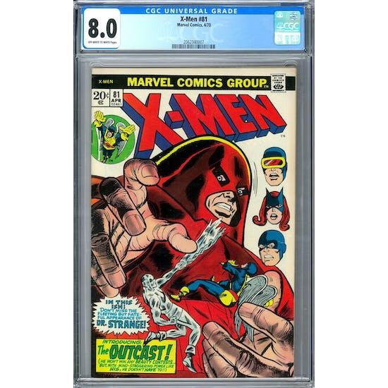 X-Men #81 CGC 8.0 (OW-W) *2062340007*