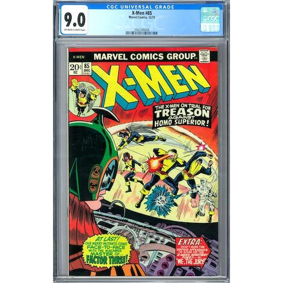 X-Men #85 CGC 9.0 (OW-W) *2062340008*