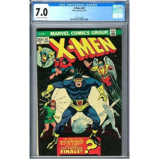 X-Men #87 CGC 7.0 (OW-W) *2062340009*