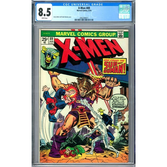 X-Men #89 CGC 8.5 (W) *2062340011*