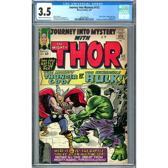 Journey Into Mystery #112 CGC 3.5 (C-OW) *2062341002*