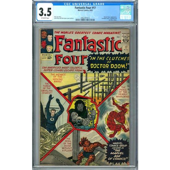 Fantastic Four #17 CGC 3.5 (OW) *2062341015*
