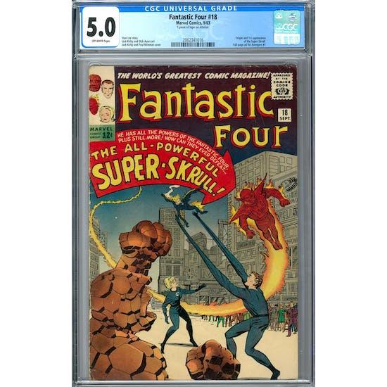 Fantastic Four #18 CGC 5.0 (OW) *2062341016*
