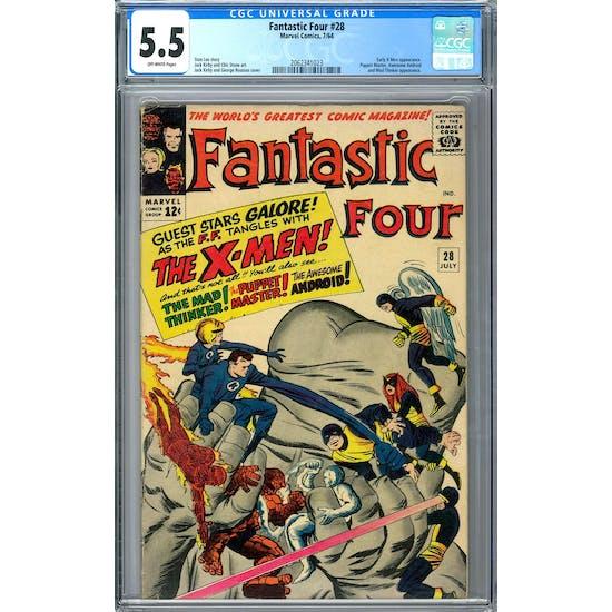 Fantastic Four #28 CGC 5.5 (OW) *2062341023*