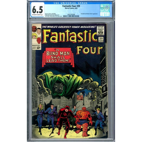 Fantastic Four #39 CGC 6.5 (OW-W) *2062342008*