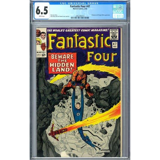 Fantastic Four #47 CGC 6.5 (W) *2062342013*