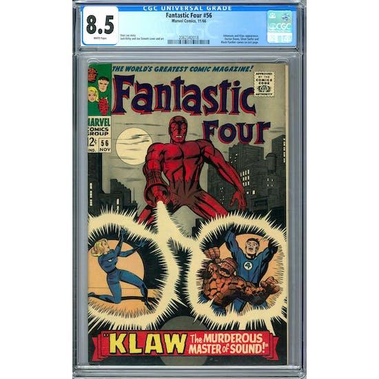 Fantastic Four #56 CGC 8.5 (W) *2062342018*