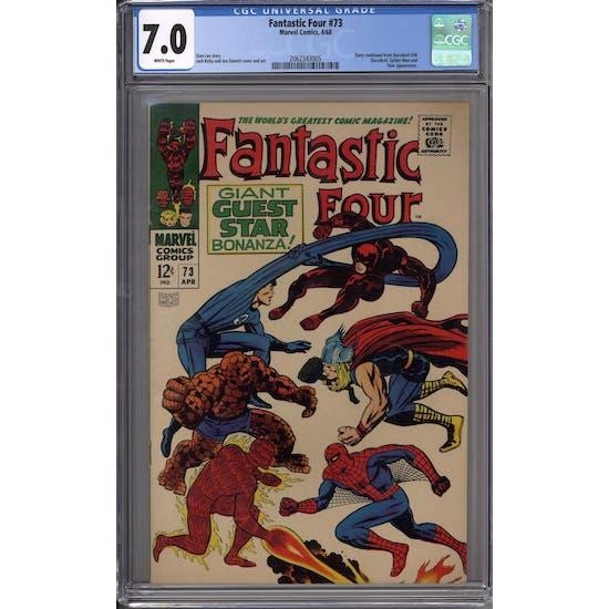 Fantastic Four #73 CGC 7.0 (W) *2062343005*