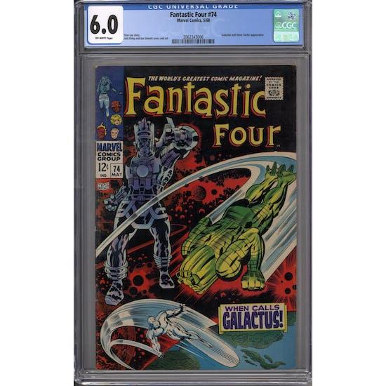 Fantastic Four #74 CGC 6.0 (OW) *2062343006*