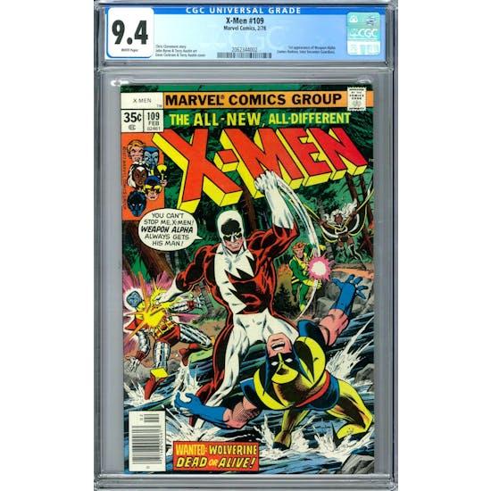 X-Men #109 CGC 9.4 (W) *2062344002*