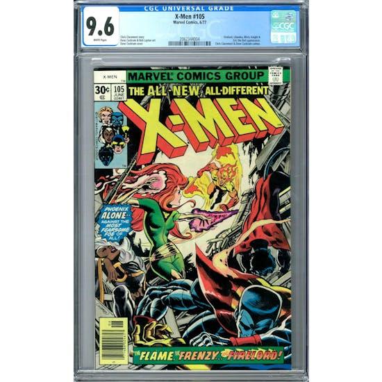 X-Men #105 CGC 9.6 (W) *2062344004*