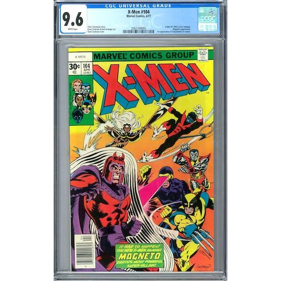 X-Men #104 CGC 9.6 (W) *2062344005*