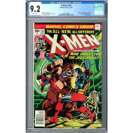 X-Men #102 CGC 9.2 (W) *2062344007*