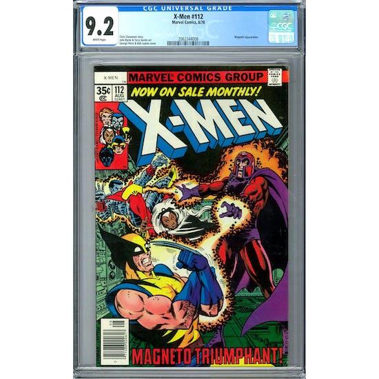 X-Men #112 CGC 9.2 (W) *2062344008*