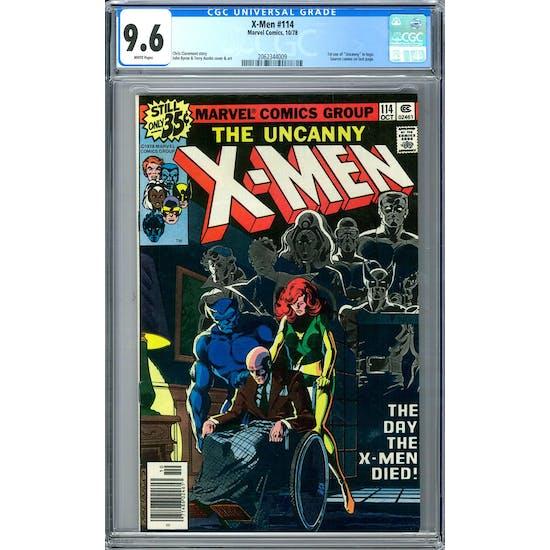 X-Men #114 CGC 9.6 (W) *2062344009*
