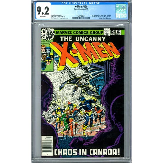 X-Men #120 CGC 9.2 (W) *2062344012*