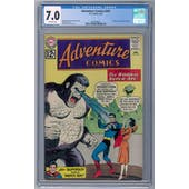 Adventure Comics #295 CGC 7.0 (OW) *2062590001*