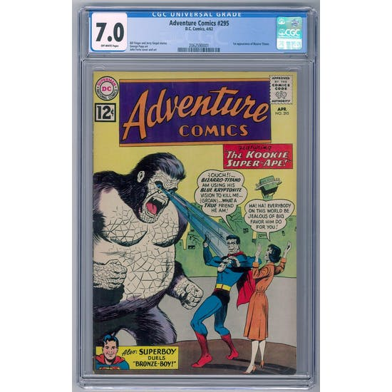 Adventure Comics #295 CGC 7.0 (OW) *2062590001*