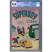 Superboy #76 CGC 8.0 (W) *2062590006*
