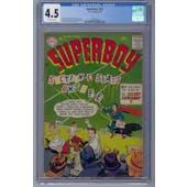 Superboy #54 CGC 4.5 (OW) *2062590007*