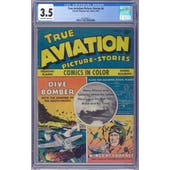 True Aviation Picture Stories #6 CGC 3.5 (OW-W) *2062590013*