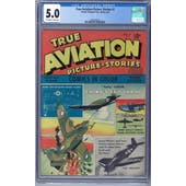 True Aviation Picture Stories #7 CGC 5.0 (OW-W) *2062590014*