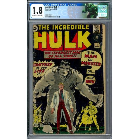 Incredible Hulk #1 CGC 1.8 (OW-W) *2063017001*