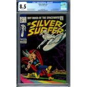 Silver Surfer #4 CGC 8.5 (W) *2063871001*