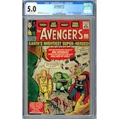 Avengers #1 CGC 5.0 (OW) *2063968002*