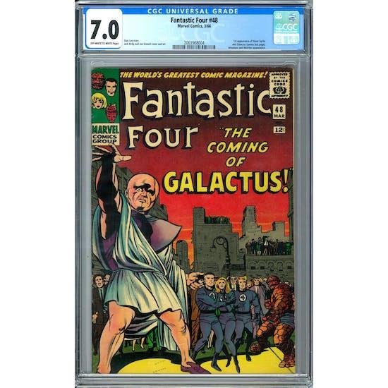 Fantastic Four #48 CGC 7.0 (OW-W) *2063968004*