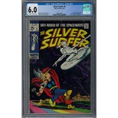 Silver Surfer #4 CGC 6.0 (OW-W) *2064168001*