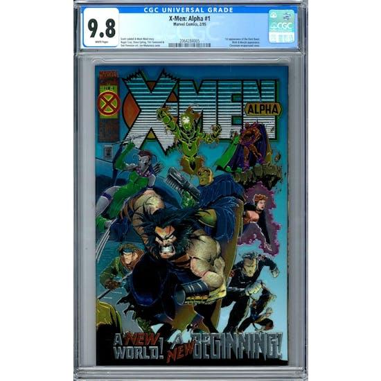 X-Men: Alpha #1 CGC 9.8 (W) *2064284005*