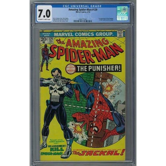 Amazing Spider-Man #129 CGC 7.0 (OW-W) *2064771001*