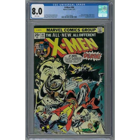 X-Men #94 CGC 8.0 (W) *2065234006*