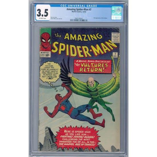 Amazing Spider-Man #7 CGC 3.5 (OW) *2065236001*