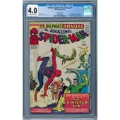 Amazing Spider-Man Annual #1 CGC 4.0 (OW-W) Canadian Edition *2065236007*